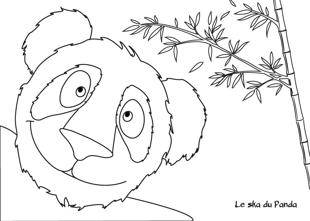 Album cd histoire en musique conte pour enfants le voyage de tao - Panda pour coloriage ...